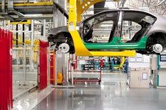 Automobiele montagewerkplaats Stock Foto