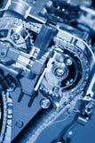 Automobiele motor Royalty-vrije Stock Afbeelding