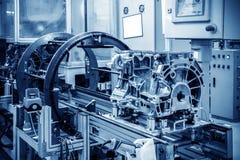 Automobiele productielijn Stock Foto's