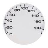 Automobiele speedmeter royalty-vrije illustratie