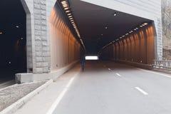 Automobiele tunnel Royalty-vrije Stock Fotografie