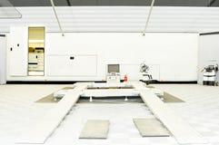 Automobielreparatieworkshop Stock Foto's