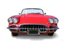 Automobilístico clássico dos esportes de Corveta isolado imagens de stock