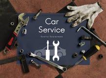 Automobil-Auto-Mechaniker Service Maintenance Concept lizenzfreie stockfotografie