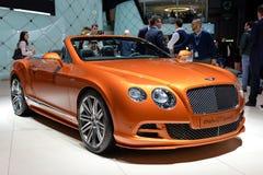 Automobil Bentleys GTC Stockbild