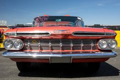 Automobil 1959 Chevy Impalas SS Lizenzfreie Stockfotos