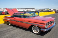 Automobil 1959 Chevy Impalas SS Stockbilder