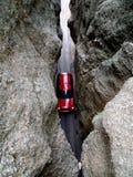 Automobil in den Bergen Stockfotografie