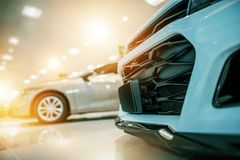 Automobilauto-Geschäft Lizenzfreies Stockbild