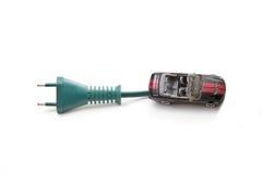 Automobile électrique Images libres de droits