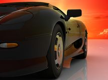 The automobile Royalty Free Stock Image