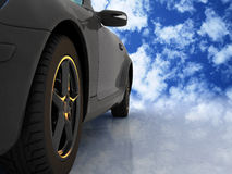 The automobile Royalty Free Stock Photo