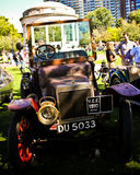 Automobile 1910 antique de vagabond Photographie stock libre de droits