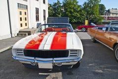 automobile 1969 di passo ufficiale del Chevrolet Camaro Immagine Stock