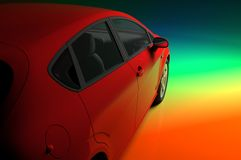 The automobile Royalty Free Stock Images