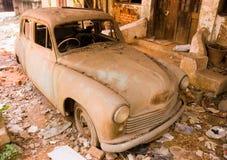 Automobile abbandonata Immagine Stock