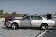 Automobile accident Stock Photos