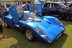 Automobile ad alta potenza di lamborghini Fotografie Stock