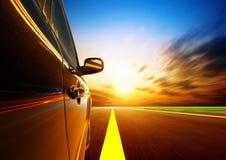 Automobile ad alta velocità Fotografie Stock