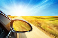 Automobile ad alta velocità Immagini Stock Libere da Diritti