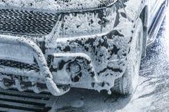 Automobile ad autolavaggio immagini stock libere da diritti