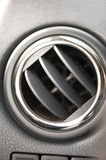 Automobile air conditioner. Close up Royalty Free Stock Photography