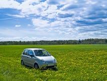Automobile al melow Fotografie Stock Libere da Diritti