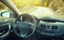 Automobile all'interno Fotografie Stock Libere da Diritti