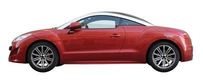 Automobile alla moda rossa Fotografia Stock