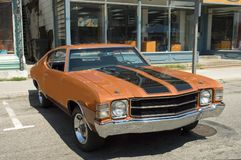 Automobile americana 3 dell'annata Fotografia Stock Libera da Diritti