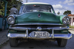Automobile americana in Cuba Immagine Stock