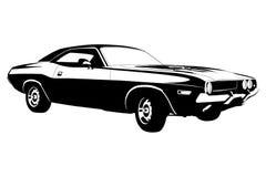 Automobile americana del muscolo Fotografie Stock Libere da Diritti