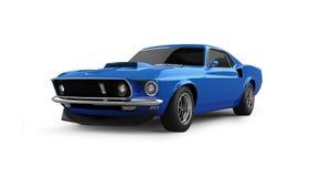 Automobile americana del muscolo Immagini Stock Libere da Diritti