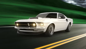 Automobile americana del muscolo illustrazione di stock