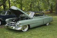 Automobile americana dell'annata da 50s Fotografie Stock