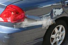 Automobile ammaccata Fotografie Stock Libere da Diritti