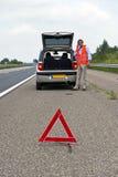 Automobile analizzata Immagini Stock Libere da Diritti