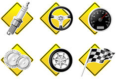 Free Automobile And Racing Icons Stock Photo - 6439180