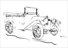 Automobile antica Immagine Stock Libera da Diritti