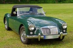 Automobile antica MG Immagini Stock Libere da Diritti