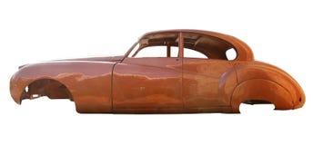 Automobile antiquata del corpo Immagine Stock