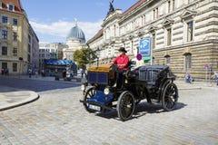 Automobile antiquata a Dresda Immagine Stock Libera da Diritti