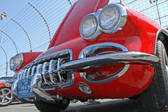Automobile antique de Chevrolet Corvette Image libre de droits