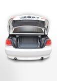 Automobile aperta del convertibile di BMW 335i della parte posteriore Immagine Stock