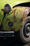 Automobile arrugginita del veterano di Citroen Fotografie Stock