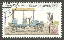 Automobile, Art B Tatra Nanowatt lizenzfreie stockfotos