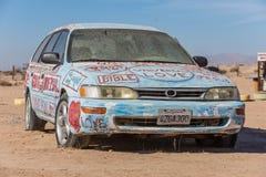 Automobile Art Installation della bibbia Fotografia Stock