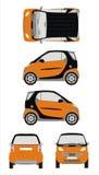 Automobile astuta Immagini Stock Libere da Diritti