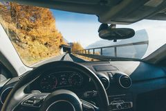Automobile, Automotive, Autumn, Car, Royalty Free Stock Images