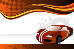 Automobile banner Stock Photography